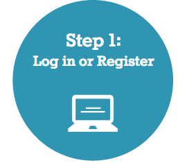 Step 1: Log in or Register
