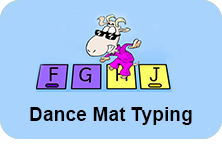 Dance Mat Typing web link