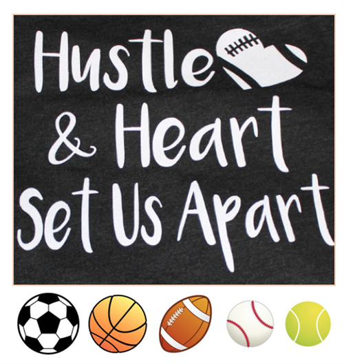 Hustle and Heart sports image