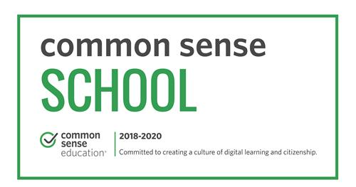 We are a Common Sense School!