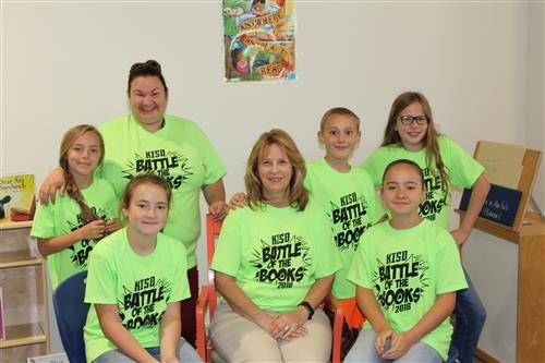 Battle of the Books Team and Sponsors