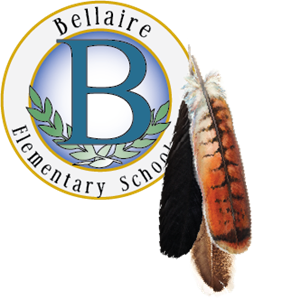 Bellaire Academic Seal with Three feathers