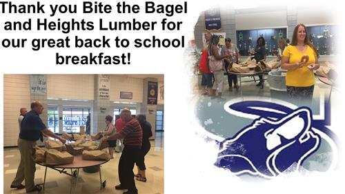 Thank you Bite the Bagel and Heights Lumber!
