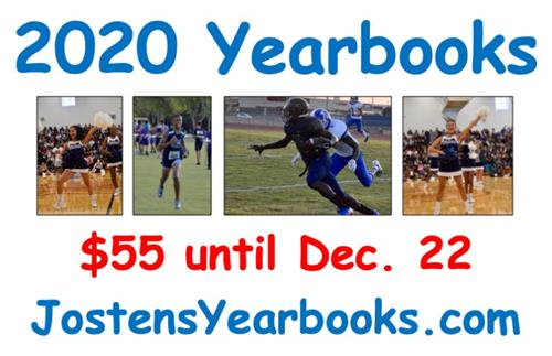 2020 Yearbooks $55