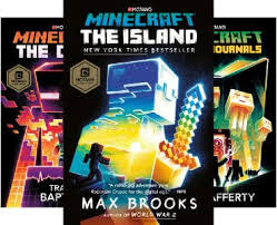 minecraft  novel covers